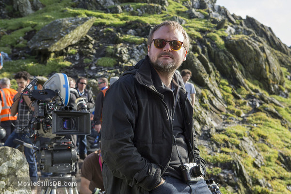 Star Wars: The Last Jedi - Behind the scenes photo of Rian Johnson