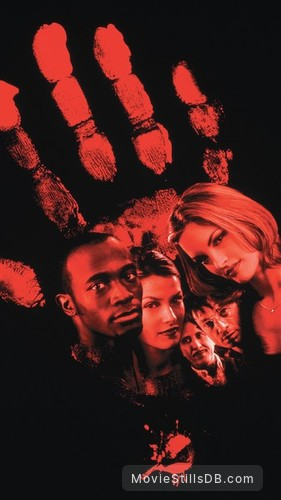 House On Haunted Hill - Promotional art with Bridgette Wilson, Geoffrey Rush, Taye Diggs, Peter Gallagher & Ali Larter