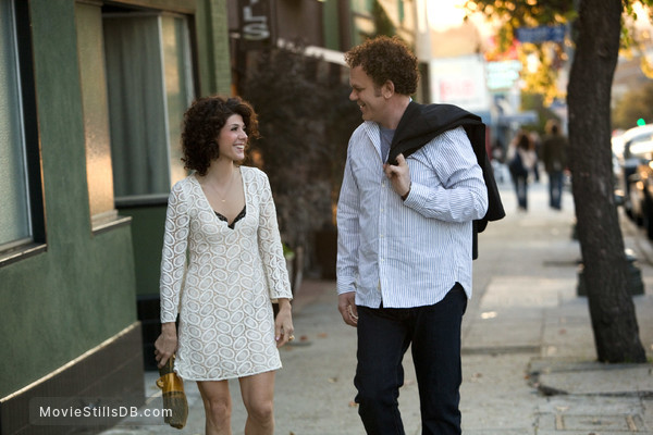 Cyrus - Publicity still of John C. Reilly & Marisa Tomei