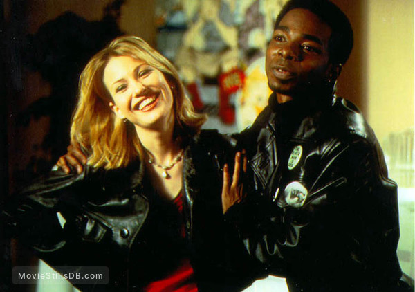 Chasing Amy - Publicity still of Dwight Ewell & Joey Lauren Adams