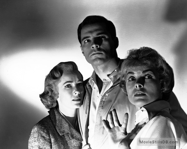 Psycho - Publicity still of Vera Miles, John Gavin & Janet Leigh