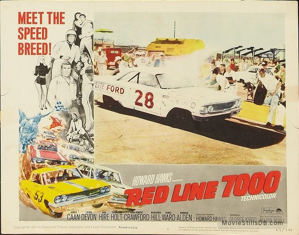 Image result for red line 7000 1965 lobby card
