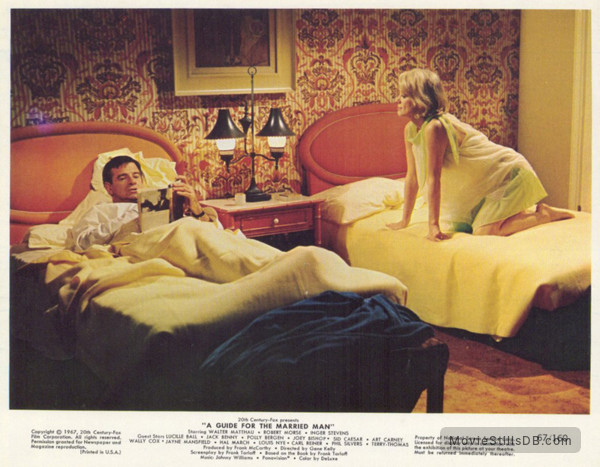 A Guide for the Married Man - Lobby card with Walter Matthau & Inger Stevens