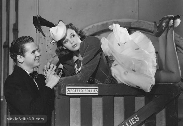 Ziegfeld Girl - Publicity still of Jackie Cooper & Judy Garland