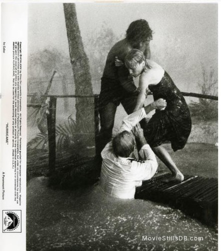 Hurricane - Publicity still of Jason Robards, Dayton Ka'ne & Mia Farrow