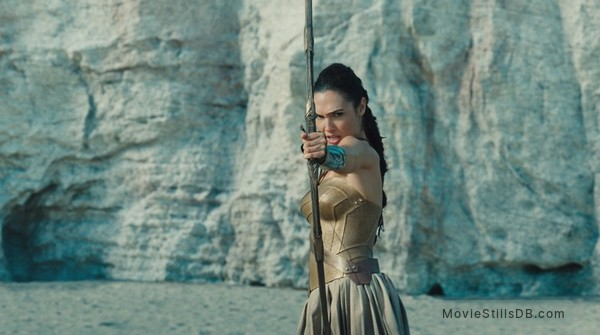 Wonder Woman - Publicity still of Gal Gadot