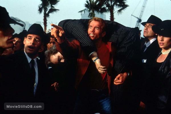 Last Action Hero - Publicity still of Arnold Schwarzenegger