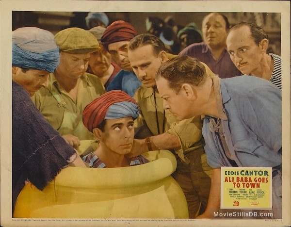 Ali Baba Goes to Town - Lobby card