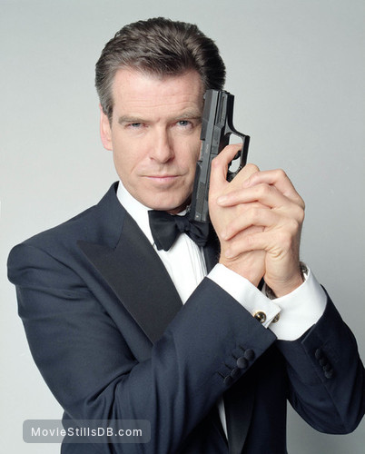 Die Another Day - Promo shot of Pierce Brosnan