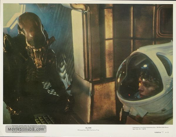 Alien - Lobby card with Sigourney Weaver