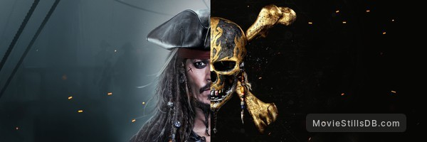 Pirates of the Caribbean: Dead Men Tell No Tales - Promotional art with Johnny Depp