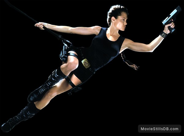 Lara Croft: Tomb Raider - Promo shot of Angelina Jolie
