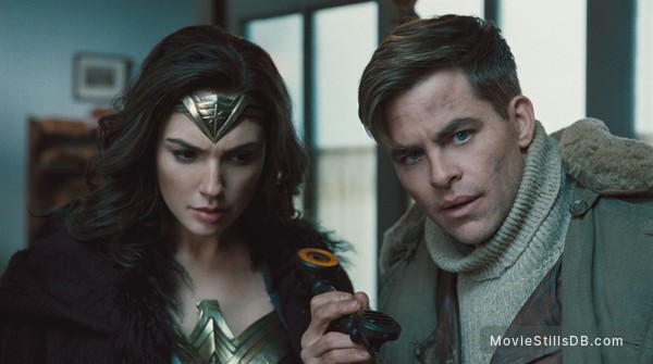 Wonder Woman - Publicity still of Gal Gadot & Chris Pine