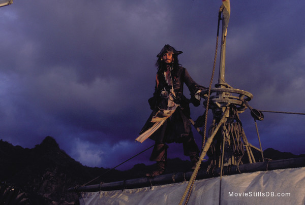 Pirates of the Caribbean: The Curse of the Black Pearl - Publicity still of Johnny Depp