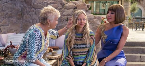Mamma Mia! Here We Go Again - Publicity still of Christine Baranski, Julie Walters & Amanda Seyfried