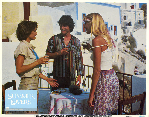 Summer Lovers - Lobby card with Valérie Quennessen & Peter ...