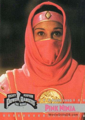 Mighty Morphin Power Rangers: The Movie - Lobby card with Amy Jo Johnson