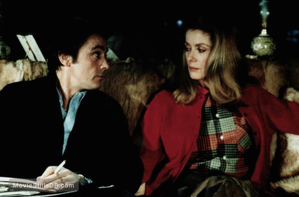 Choc, Le - Publicity still of Alain Delon & Catherine Deneuve