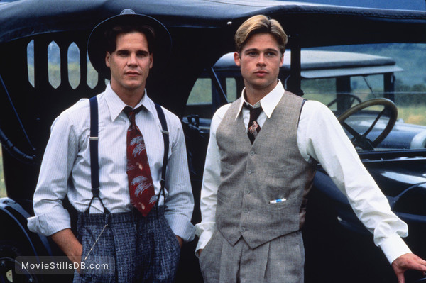 A River Runs Through It - Publicity still of Brad Pitt & Craig Sheffer