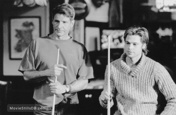O Meara Ford >> The Devil's Own - Publicity still of Harrison Ford & Brad Pitt