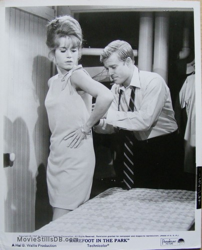 Barefoot in the Park - Publicity still of Jane Fonda & Robert Redford