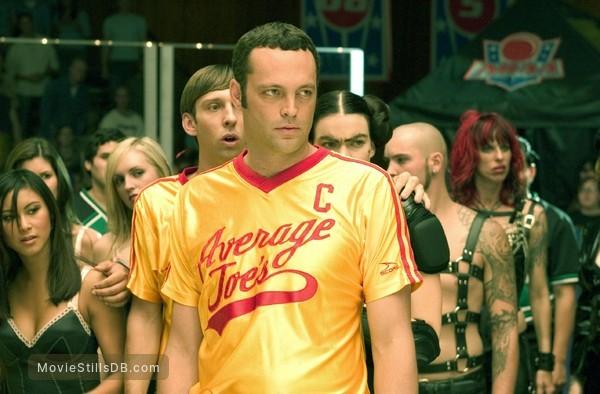 Dodgeball: A True Underdog Story - Publicity still of Vince Vaughn, Joel David Moore & Missi Pyle