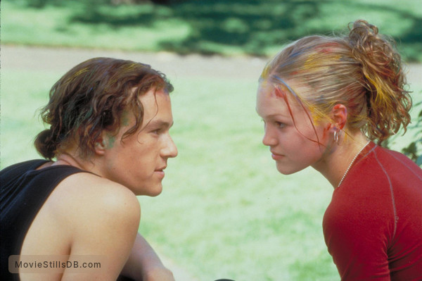 10 Things I Hate About You - Publicity still of Heath Ledger & Julia Styles