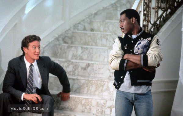 Beverly Hills Cop 2 - Publicity still of Eddie Murphy & Judge Reinhold