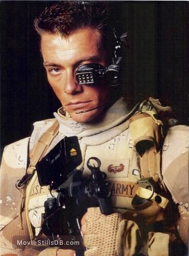universal soldier promo shot of jeanclaude van damme
