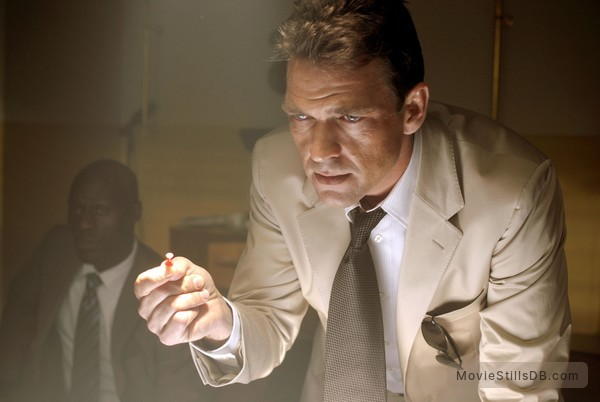 Hitman - Publicity still of Dougray Scott & Michael Offei