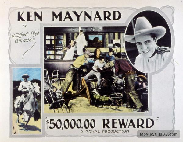 $50,000 Reward - Lobby card