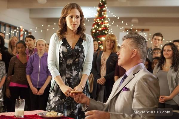 A Cookie Cutter Christmas - Publicity still of Alan Thicke & Erin Krakow