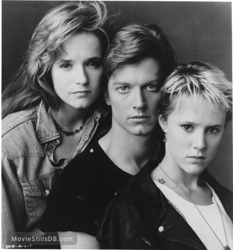 Some Kind of Wonderful - Promo shot of Eric Stoltz, Lea Thompson & Mary Stuart Masterson