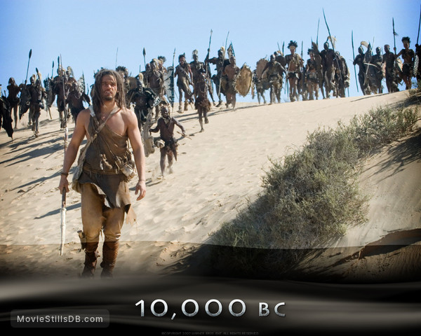 10,000 BC - Wallpaper with Steven Strait