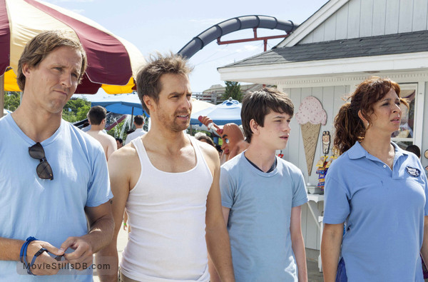 The Way Way Back - Publicity still of Maya Rudolph, Liam James, Nat Faxon & Sam Rockwell