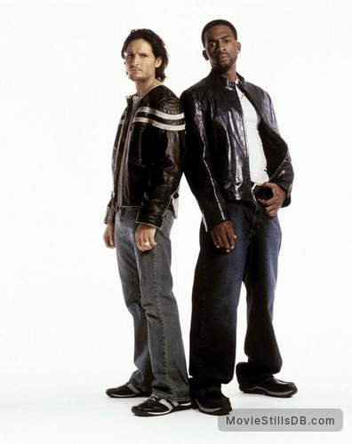 Fastlane - Promo shot of Peter Facinelli & Bill Bellamy
