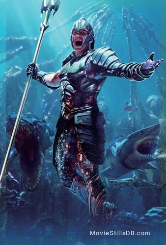 Aquaman - Promotional art with Patrick Wilson