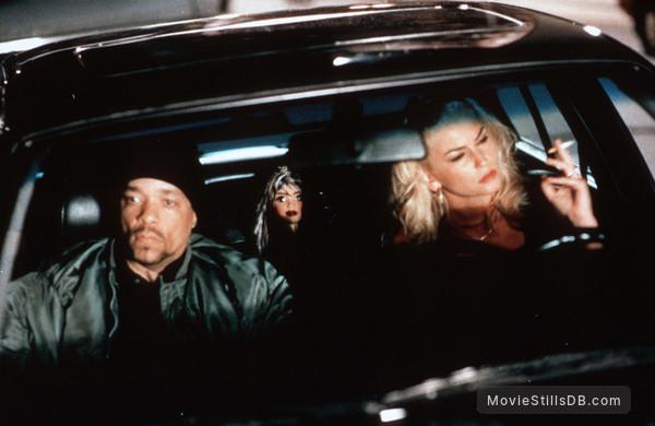 'R Xmas - Publicity still of Ice-T & Drea de Matteo