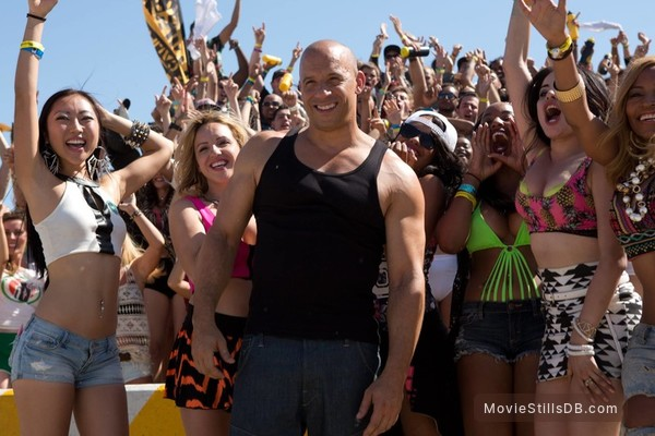 Furious 7 - Publicity still of Vin Diesel