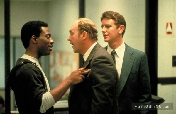 Beverly Hills Cop - Publicity still of Eddie Murphy, Judge Reinhold & John Ashton