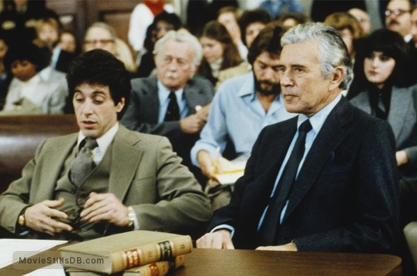 ...And Justice for All - Publicity still of Al Pacino & John Forsythe