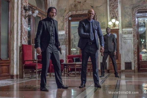 John Wick: Chapter Two - Publicity still of Keanu Reeves & Common