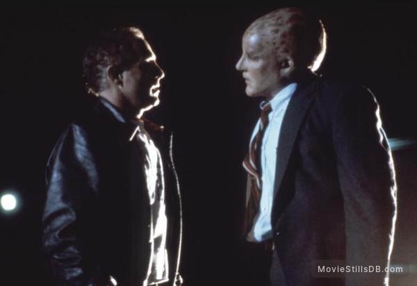 Alien Nation - Publicity still of James Caan & Mandy Patinkin