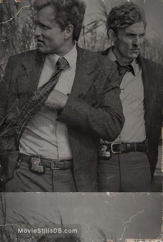 True Detective - Promotional art with Matthew McConaughey & Woody Harrelson