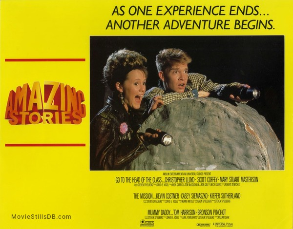 Amazing Stories - Lobby card with Mary Stuart Masterson & Scott Coffey