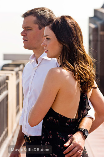 The Adjustment Bureau - Publicity still of Matt Damon & Emily Blunt